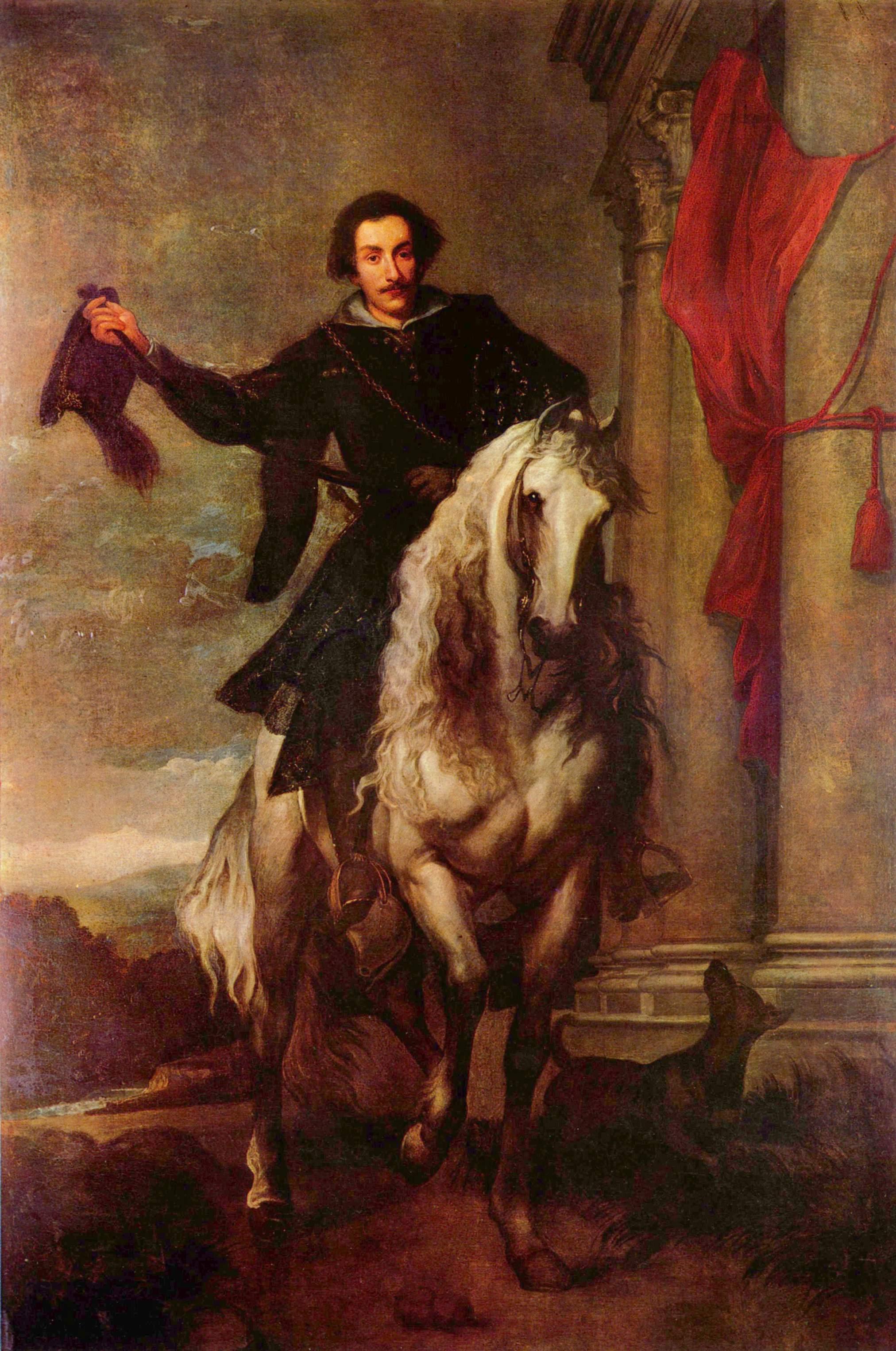 Портрет маркизы Антонио Джулио Бриньоле-Сале, Антонис ван Дейк