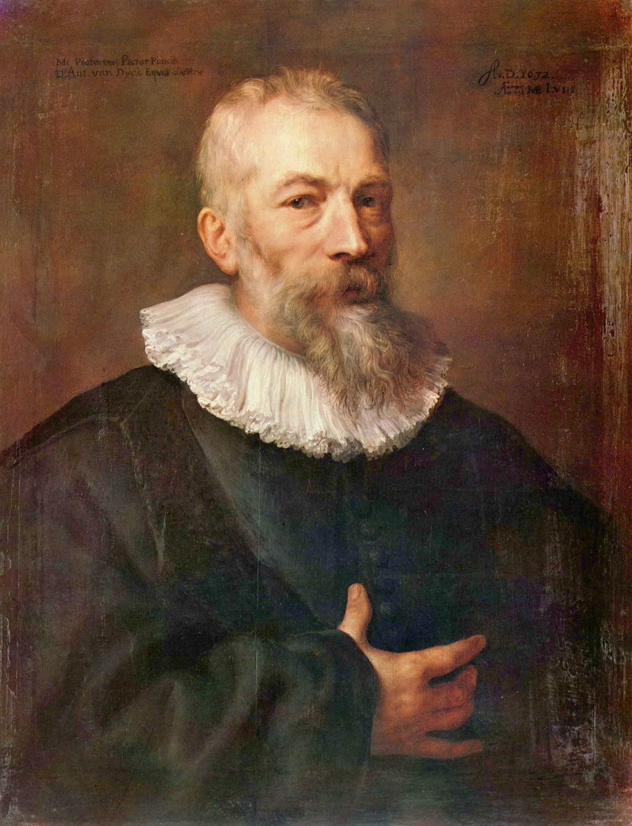 Портрет художника Мартина Пепейна, Антонис ван Дейк