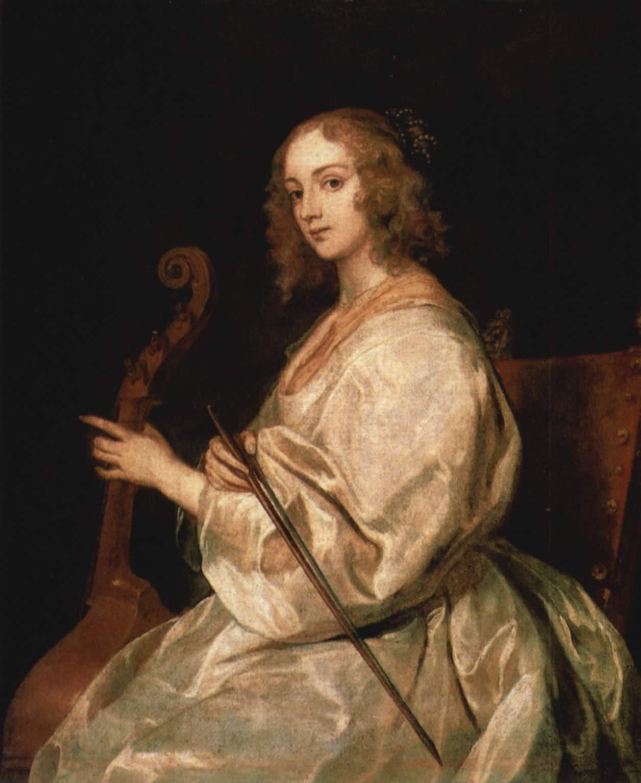 Портрет Мари Русвен, жены художника, Антонис ван Дейк