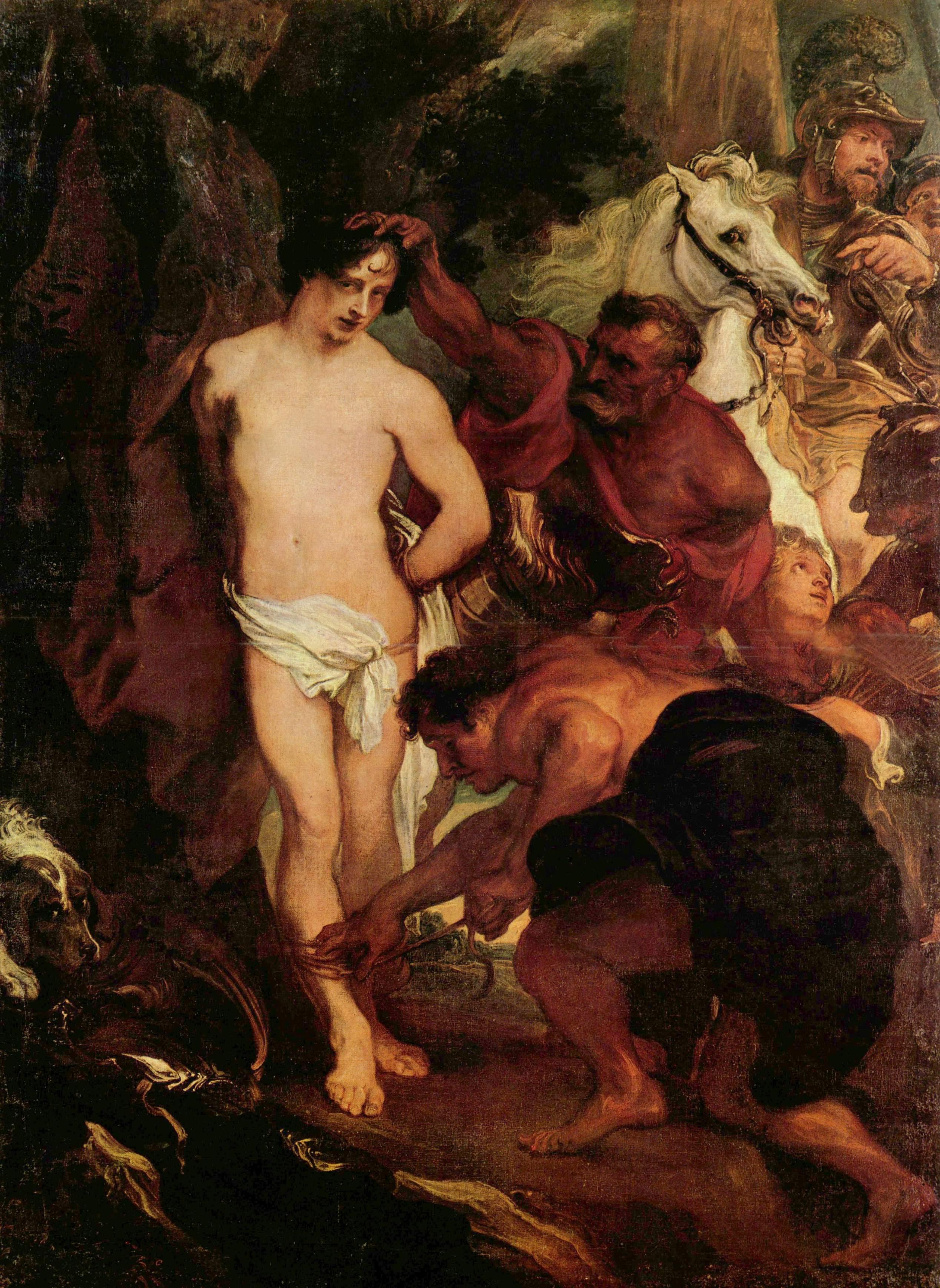 Мученичество святого Себастьяна, Антонис ван Дейк