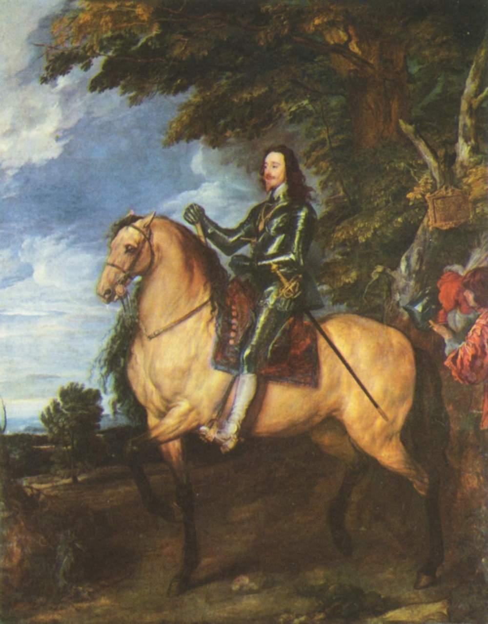 Конный портрет Карла Первого, короля Англии, Антонис ван Дейк
