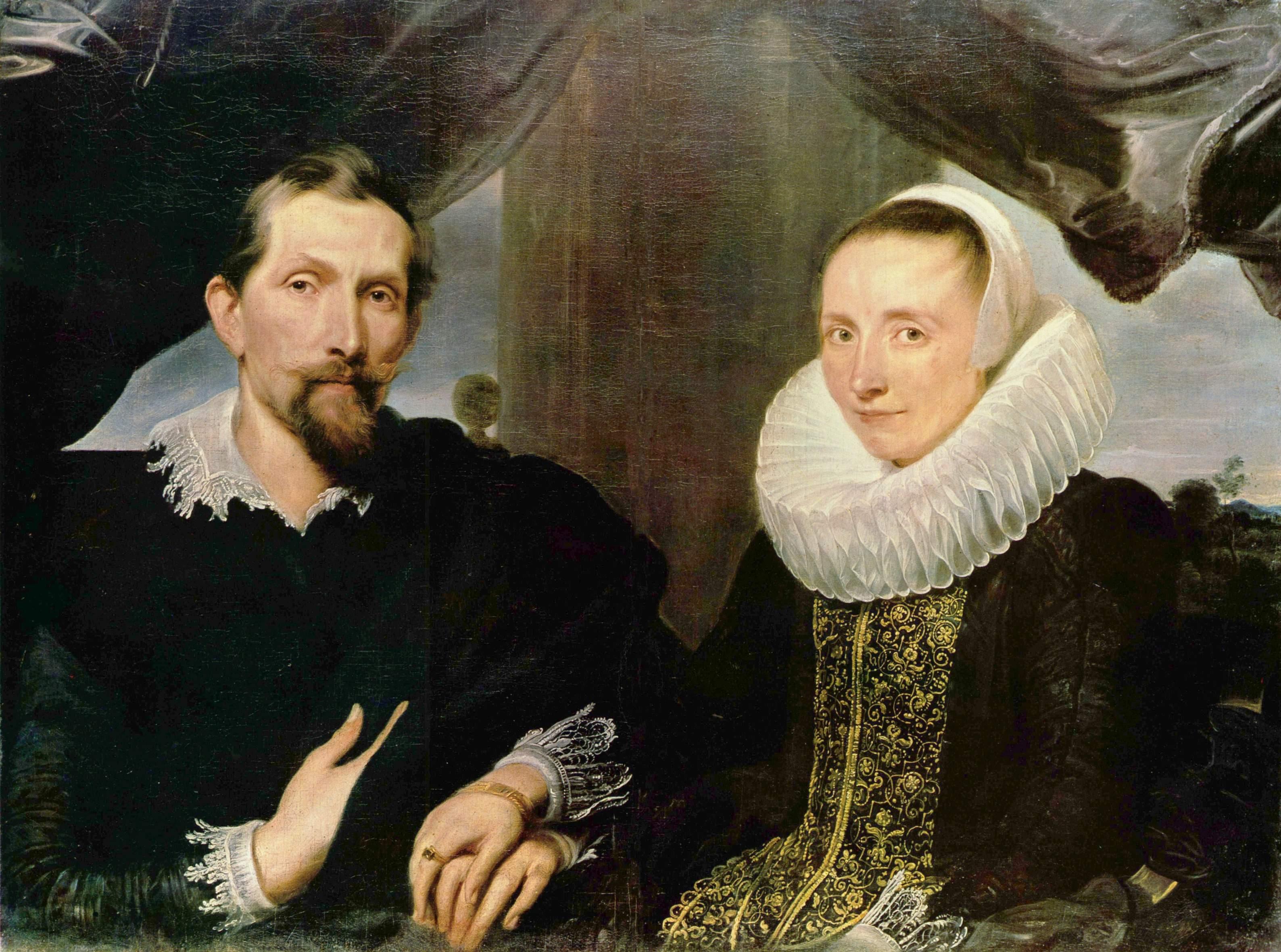 Портрет Франса Снайдерса и его жены, Антонис ван Дейк