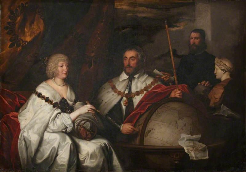 Портрет Томаса Ховарда, графа Арунделя и его жены Алатеи Тальбот, Антонис ван Дейк