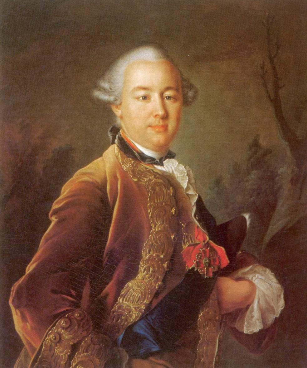 Портрет графа Петра Борисовича Шереметьева, Аргунов Иван Петрович
