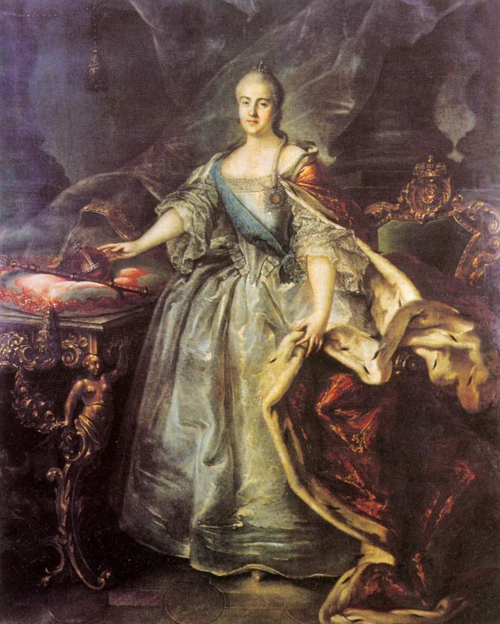 Портрет Екатерины II, Аргунов Иван Петрович