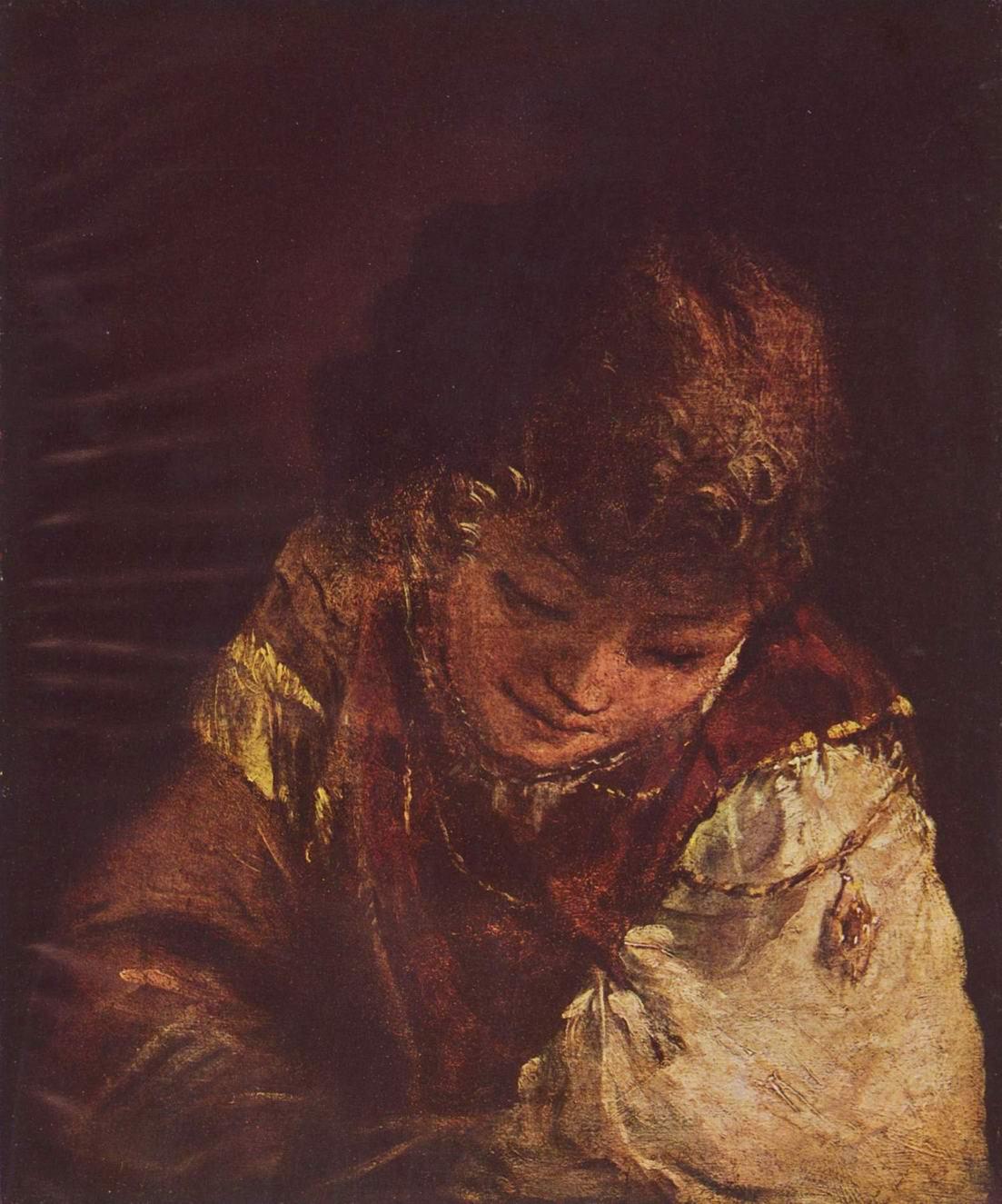 Молодой человек, Арт де Гелдер