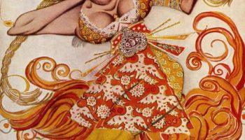 Танцовщица из балета «Жар-птица»