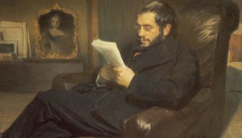 Портрет художника, критика и историка искусства Александра Николаевича Бенуа