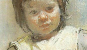 Портрет Марии Марковны Клячко, племянницы художника