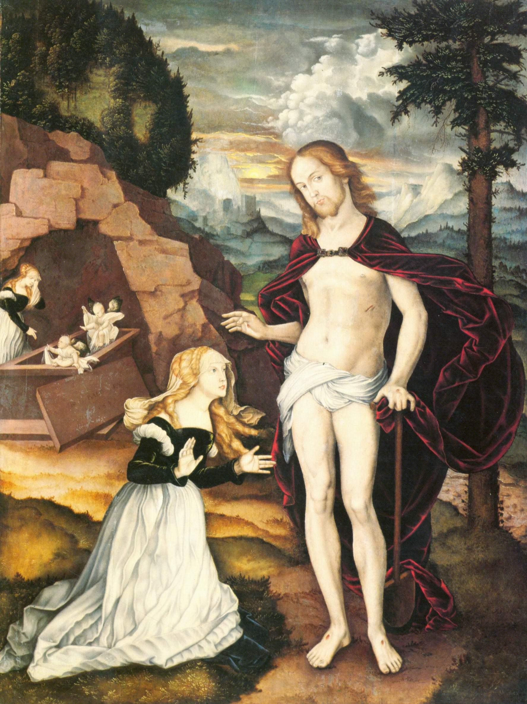 Бальдунг Ханс-Христос-садовник (Noli me tangere), Бальдунг Ханс
