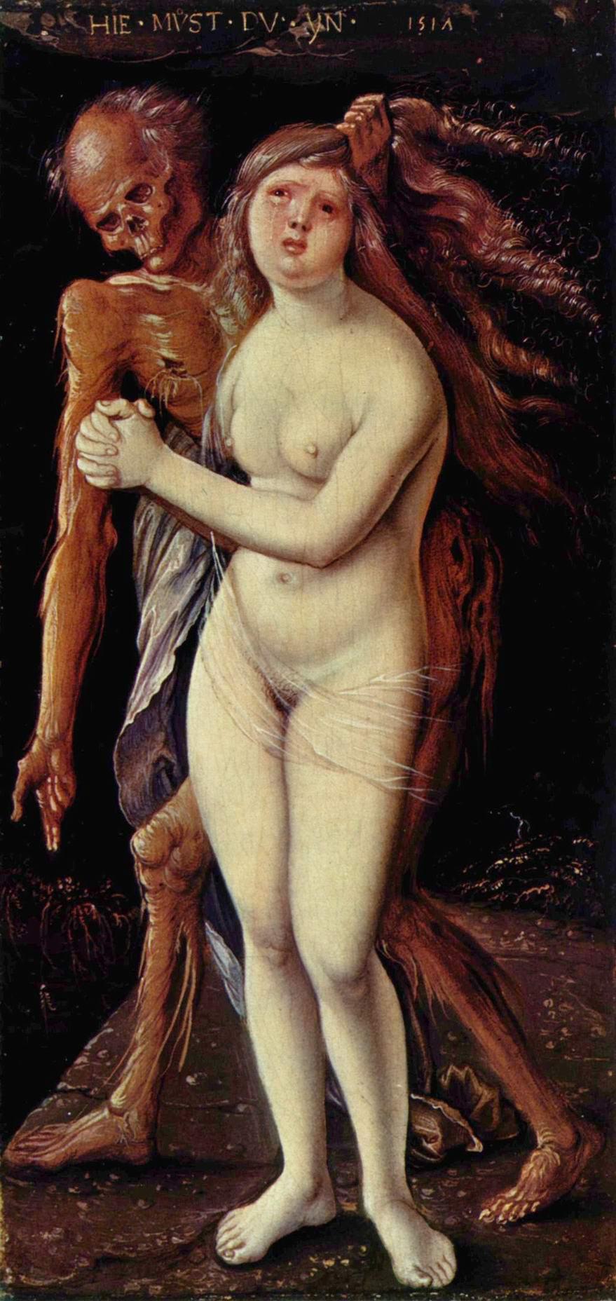 Бальдунг Ханс-Смерть и дева (Смерть и Сладострастие), Бальдунг Ханс
