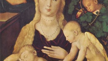 Мария в виноградной беседке