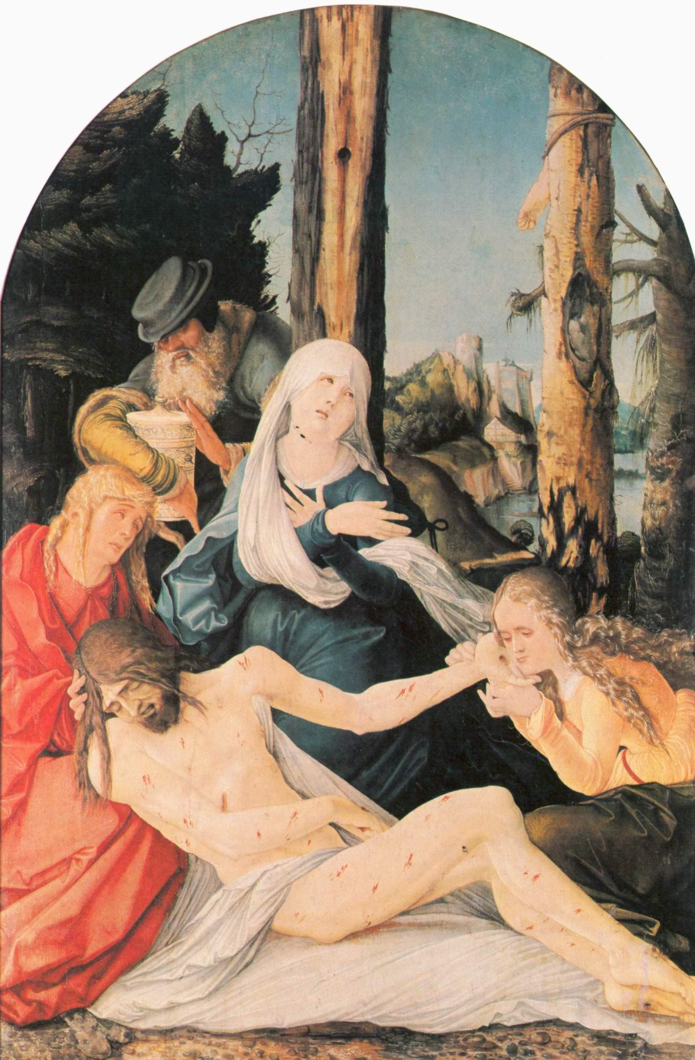 Бальдунг Ханс-Оплакивание Христа, Бальдунг Ханс