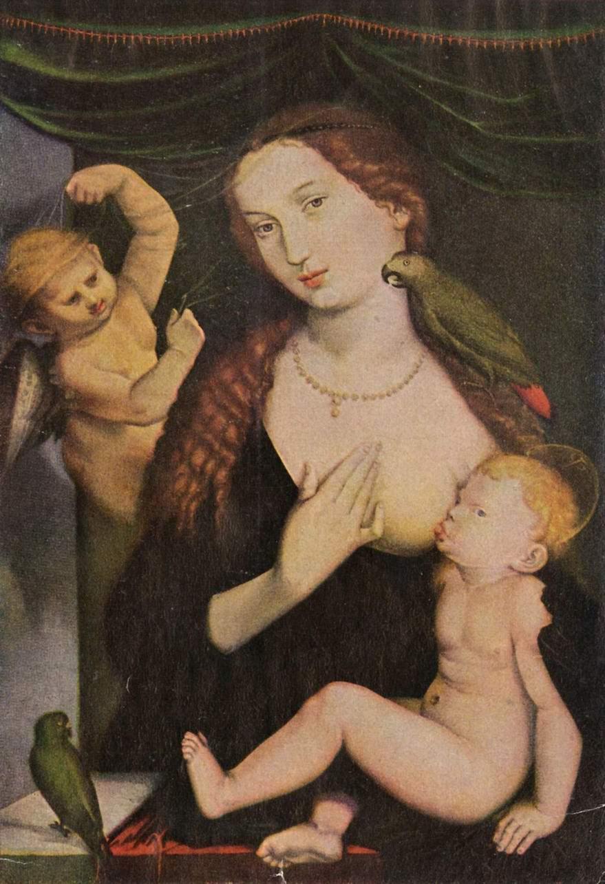 Бальдунг Ханс-Мадонна с попугаем, Бальдунг Ханс