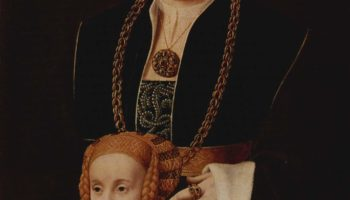 Портрет дамы с дочерью