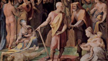 Постумий Тибурций убивает своего сына