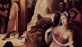 Моисей разбивает скрижали Завета