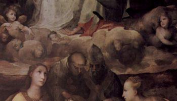 Коронование Марии со святыми