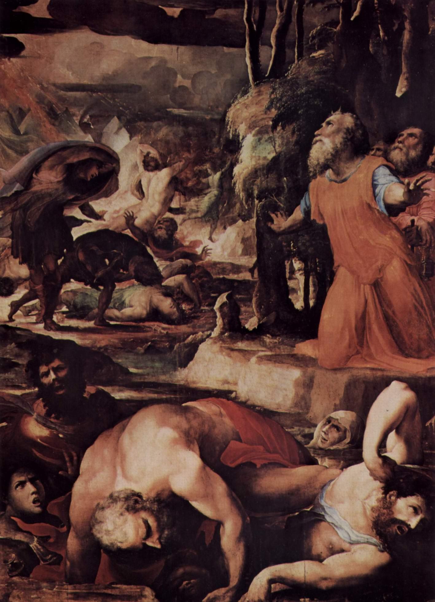 Наказание адским огнем (Страшный суд), Беккафуми Доменико