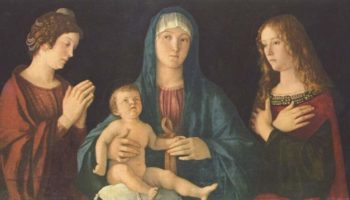 Мадонна с двумя святыми