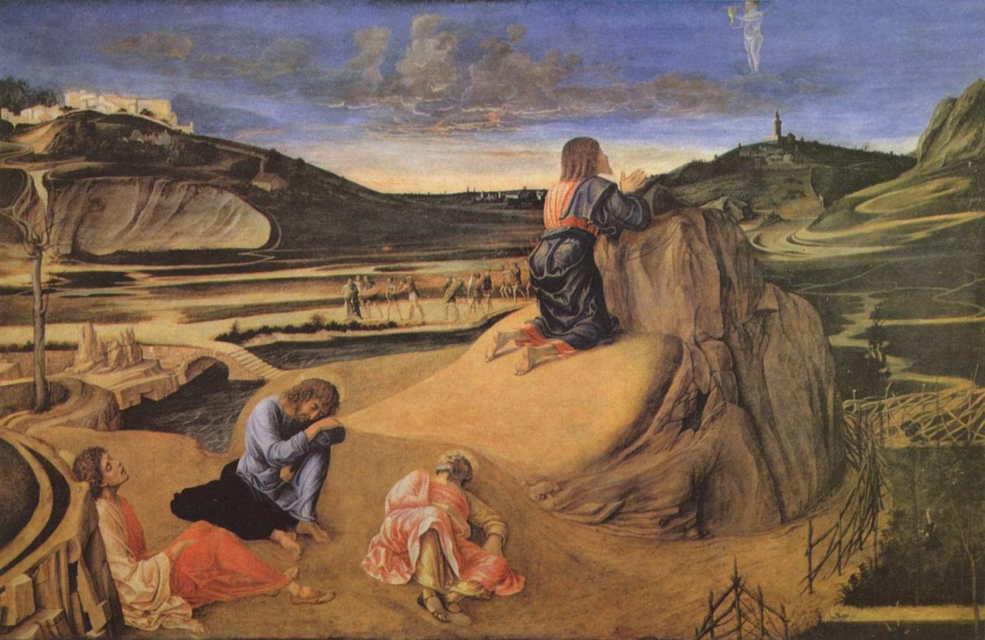 Христос на Елеонской горе, Беллини Джованни