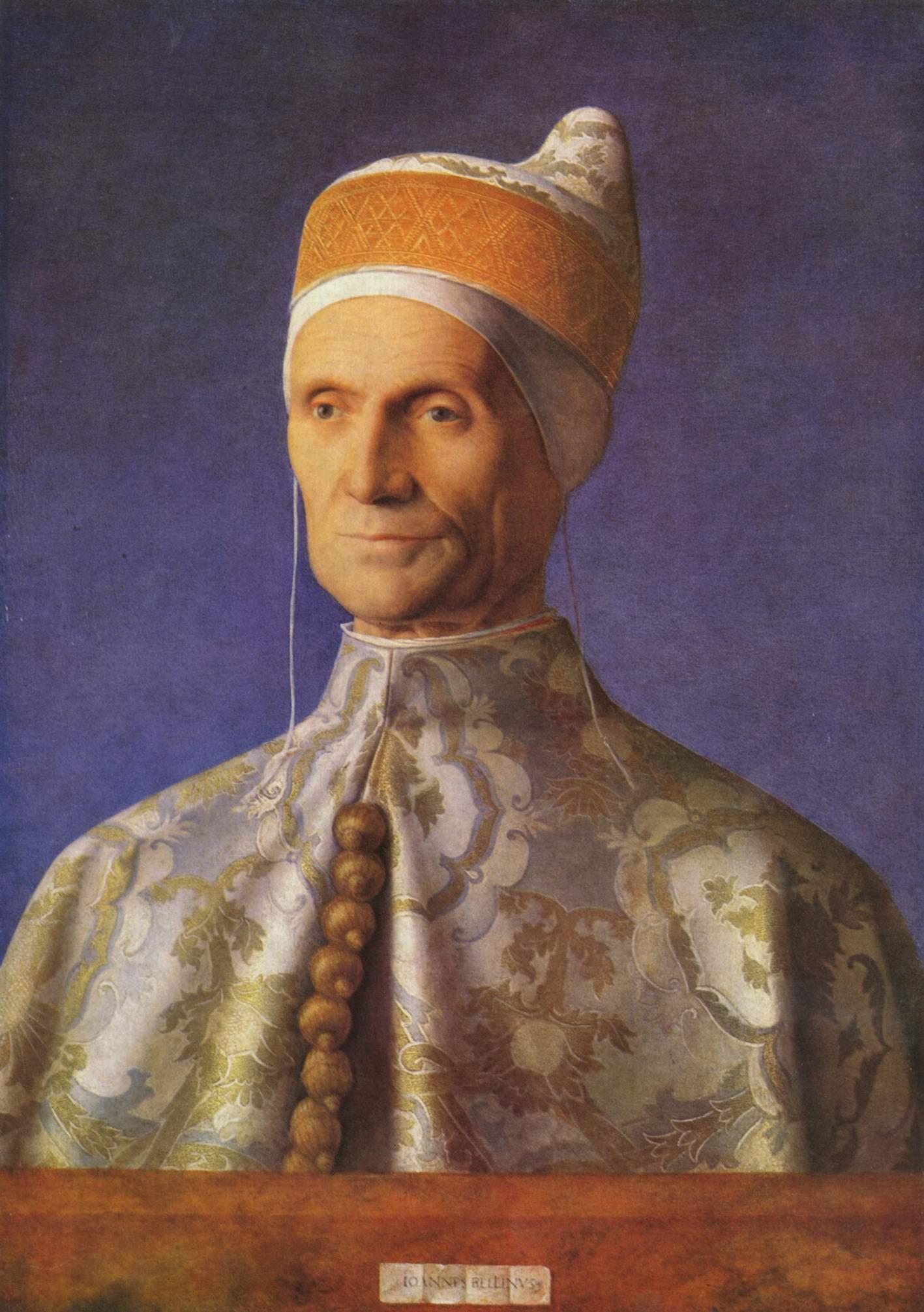 Портрет дожа Леонардо Лоредана, Беллини Джованни