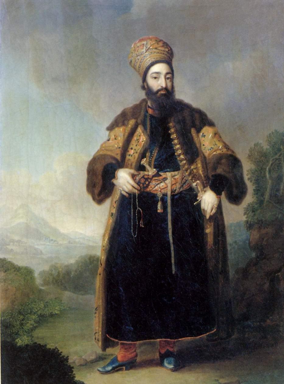 Портрет Муртазы-Кули-хана, Боровиковский Владимир Лукич