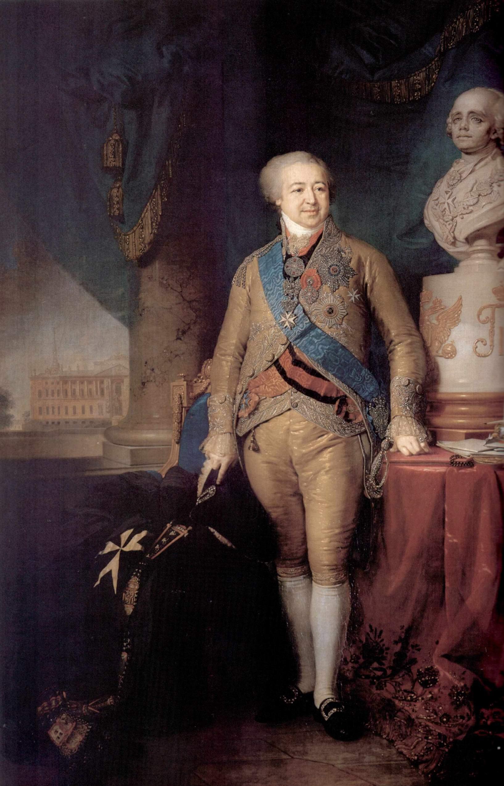 Портрет князя Александра Борисовича Куракина, Боровиковский Владимир Лукич