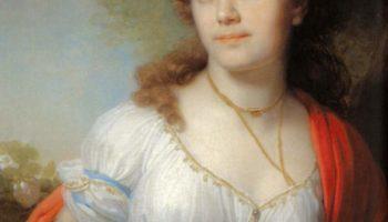 Портрет княгини Елизаветы Григорьевны Темкиной