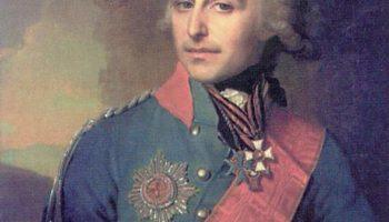 Портрет генерал-адъютанта, графа Петра Александровича Толстого