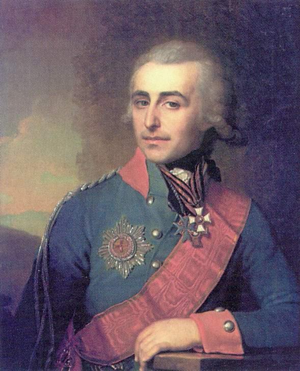 Портрет Н. А. Толстого, Боровиковский Владимир Лукич