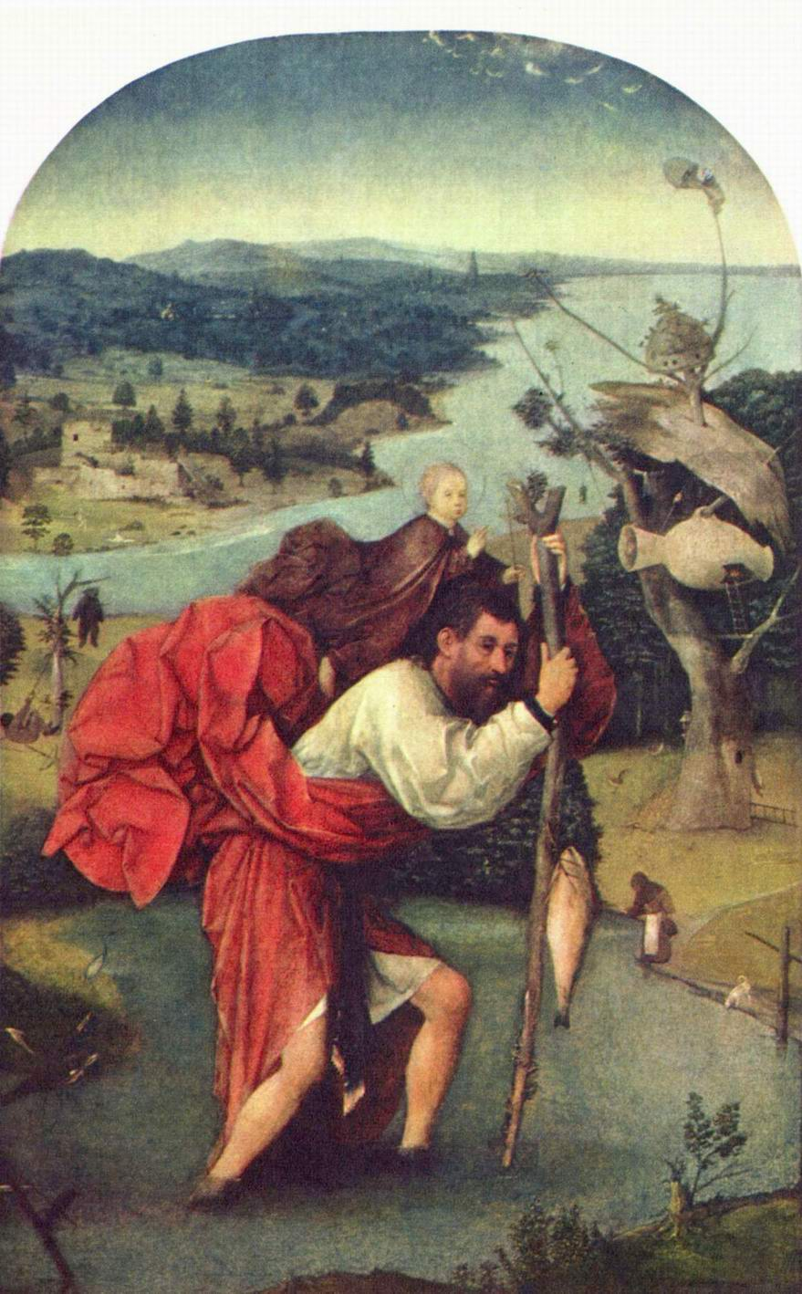 Св. Христофор, Босх Иероним