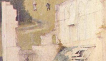 Триптих св. Епифании, левая створка  св. Пётр и коленопреклонённый донатор