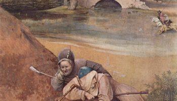 Триптих Поклонения волхвов, центральная часть  Поклонение волхвов. Деталь