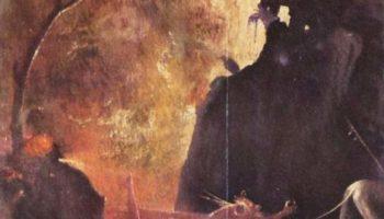 Адская река. Полиптих Видения загробного мира (Блаженные и проклятые). Правая панель