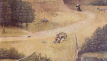 Триптих св. Епифании, правая створка  св. Агнесса и коленопреклонённая дарительница