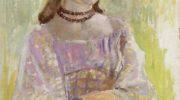 Девушка в ожерелье. Этюд к картине «Изумрудное ожерелье»