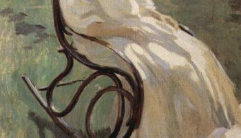 Дама в кресле-качалке. Эскиз к неосуществленной картине «Материнство»