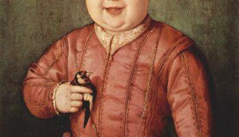 Портрет Джованни Медичи в детстве