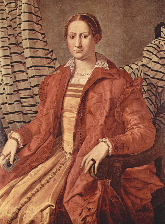 Портрет знатной дамы Элеоноры Толедской, Бронзино Аньоло