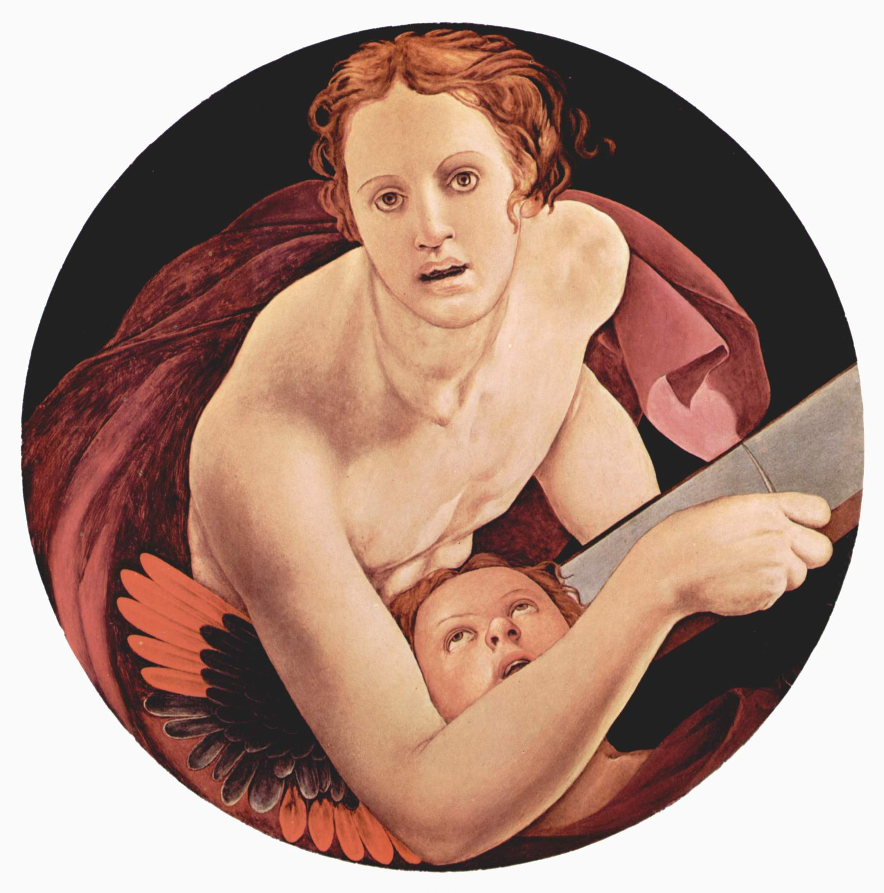 Изображения евангелистов Капеллы Каппони в Санта Фелиция во Флоренции, св. Матфей, Бронзино Аньоло