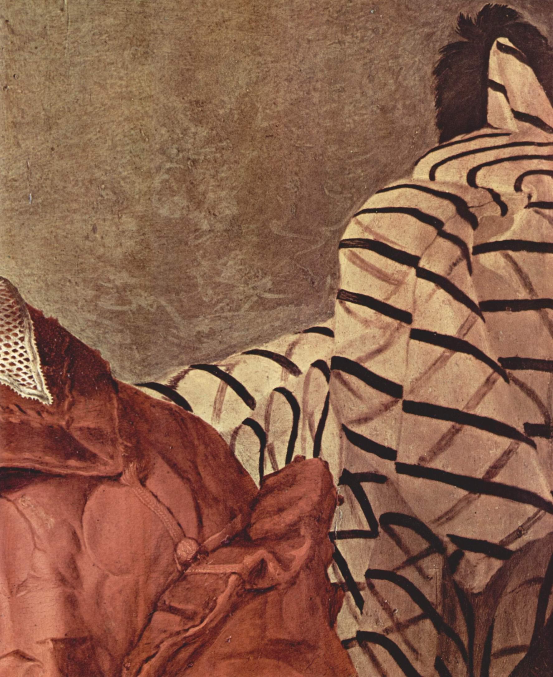 Портрет знатной дамы (Элеоноры Толедской). Деталь одежды, Бронзино Аньоло