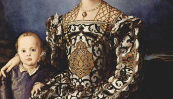 Портрет Элеоноры Толедской с сыном Джованни