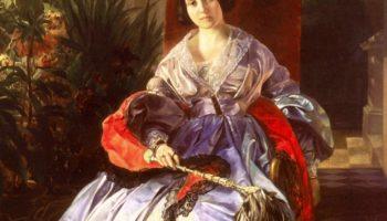 Портрет светлейшей княгини Елизаветы Павловны Салтыковой