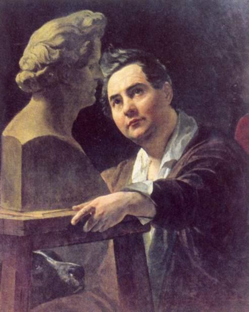 Портрет скульптора Ивана Витали, Брюллов Карл Павлович