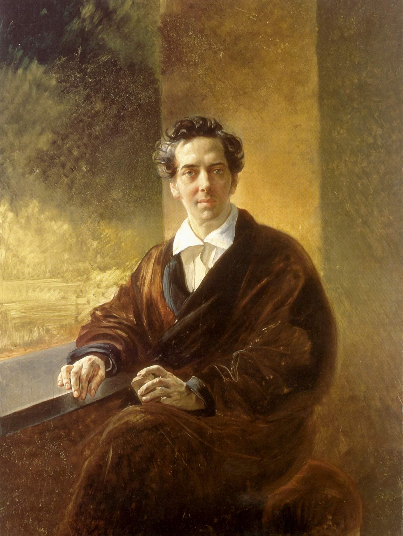 Портрет графа Перовского - писателя Антония Погорельского, Брюллов Карл Павлович