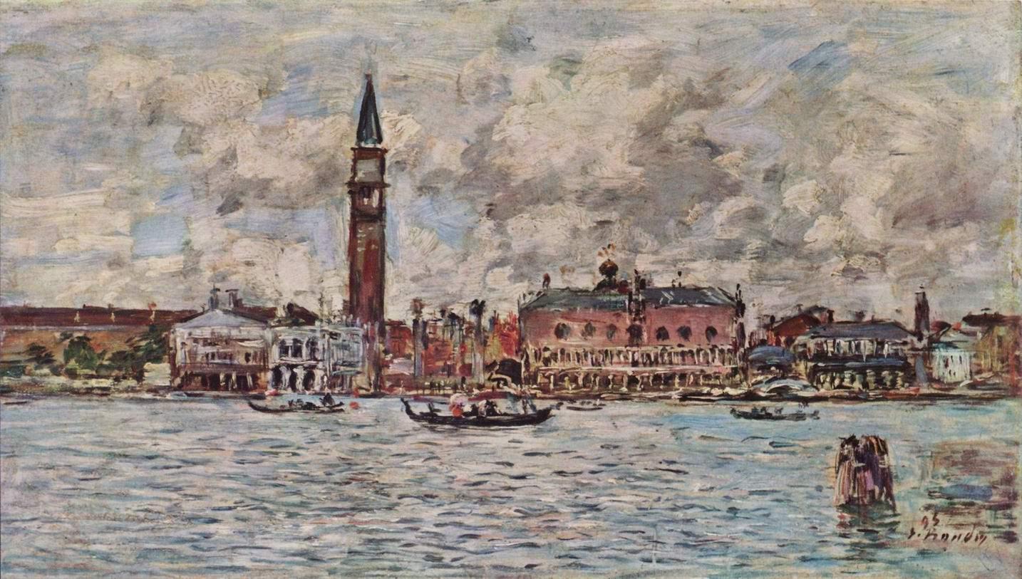 Площадь Сан Марко в Венеции, Буден Эжен