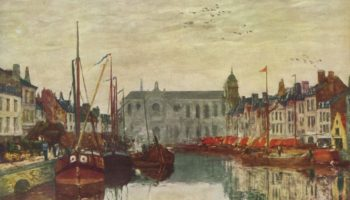 Канал в Брюсселе