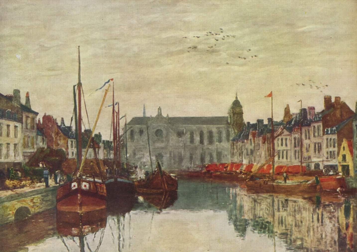Канал в Брюсселе, Буден Эжен