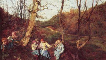 Ранняя весна в Венском лесу